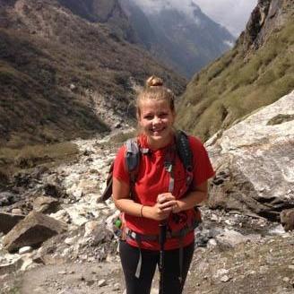 Kelsey C in Nepal